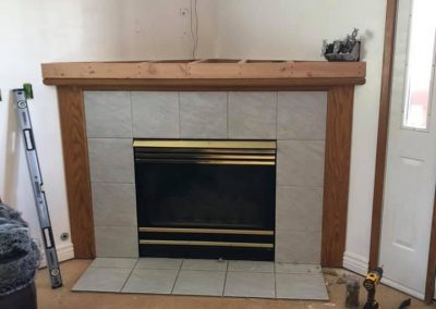 fireplace remodeling logan