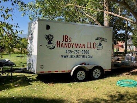 jbs handyman services logan utah trailer