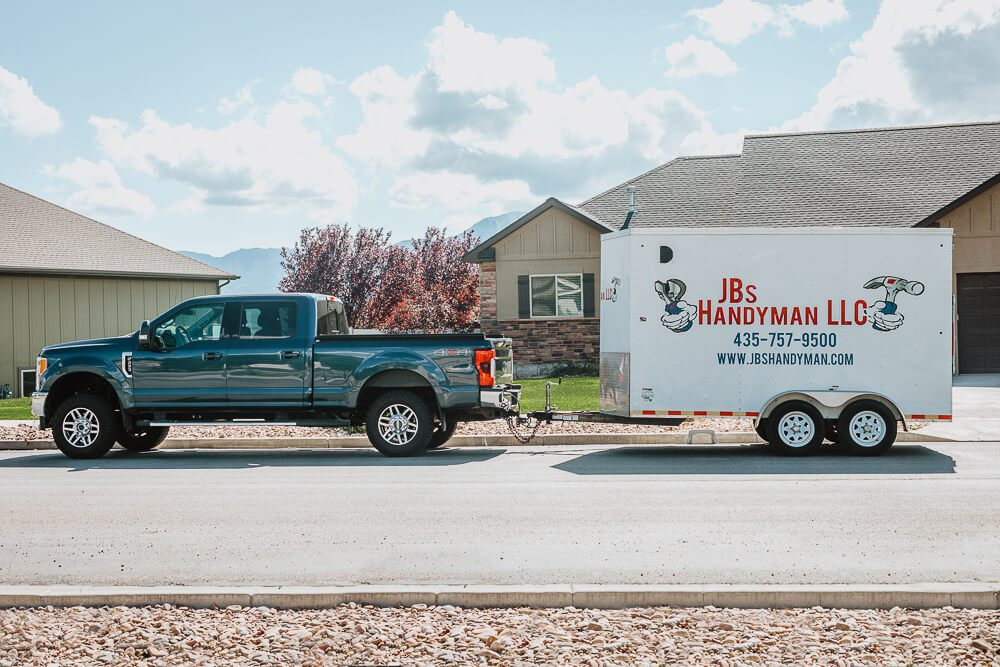 home improvement trailer in logan