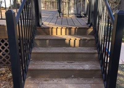 deck stairs refinishing in logan utah