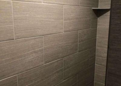 tile work in bathroom in logan utah