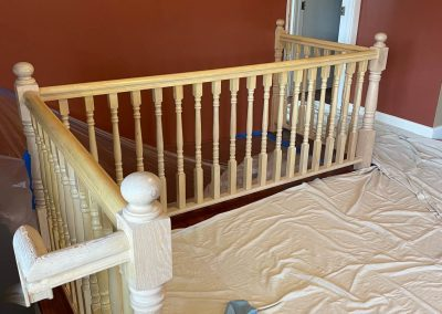 stairs being remodeled